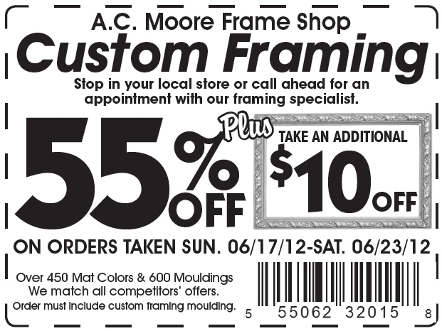 55 coupon ac moore