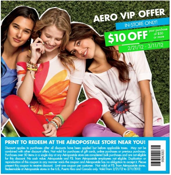 Aeropostale Advertisements