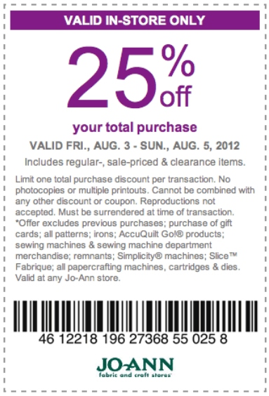 Fabric com coupon code september 2018
