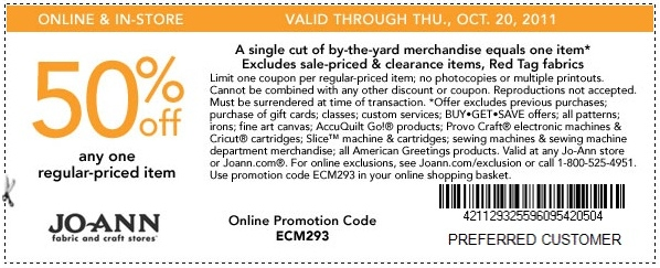 Joanns coupons weekly ad for Joann craft store hours