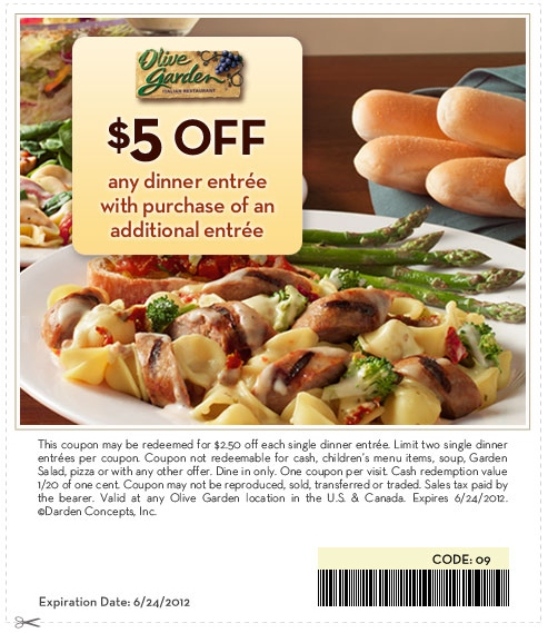 Olive Garden Coupon Code 2017 2018 Best Cars Reviews
