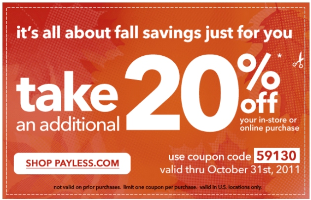 Payless often has recurring buy one, get one free sales in addition to heavily discounted clearance items. Check out the sale and clearance section to see all today's biggest discounts on shoes, bags, accessories and more! And remember to use Payless coupons on top of sale items so you can save the most money possible.