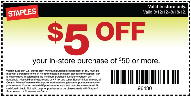 how to get staples coupon codes