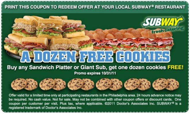 Subway specials help you eat healthy and eat fresh by providing six-inch or $5 footlong sub deals in flavors like ham, turkey, italian or cold-cut. Look for Subway Sub of the Month deals or subway catering coupons to eat right and save money.