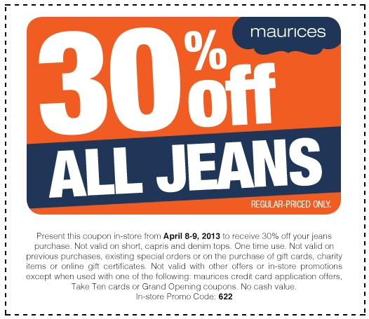 Maurices is a clothing retailer that offers both online shopping as well as physical retail locations around the United States of America. The company specializes in clothing for women, its products including: jeans, blouses, skirts, dresses, outerwear, plus sizes, shoes, accessories, loungewear, and swimwear.
